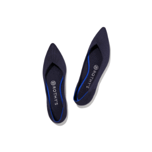 pointed toe flats for capsule wardrobe