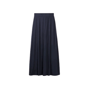the perfect maxi skirt for capsule wardrobes