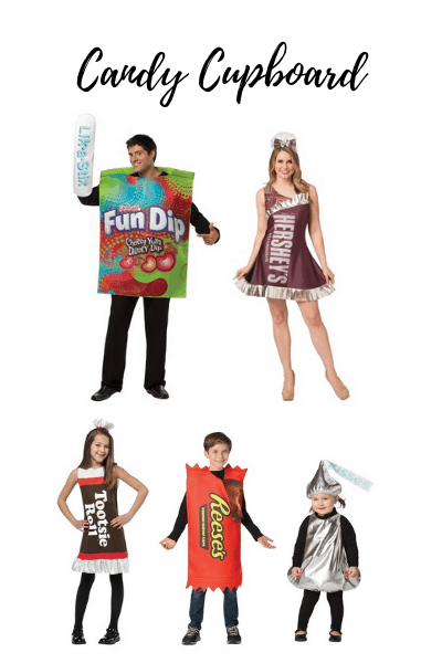 candy family Halloween costumes
