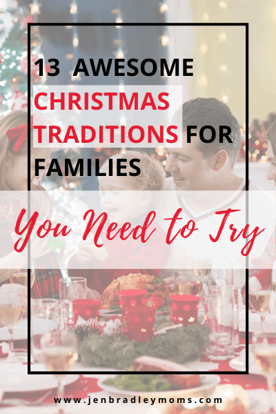 create family christmas traditions