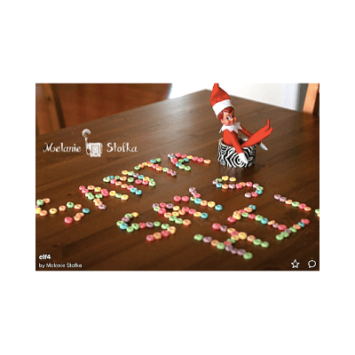 last minute elf on the shelf ideas - message
