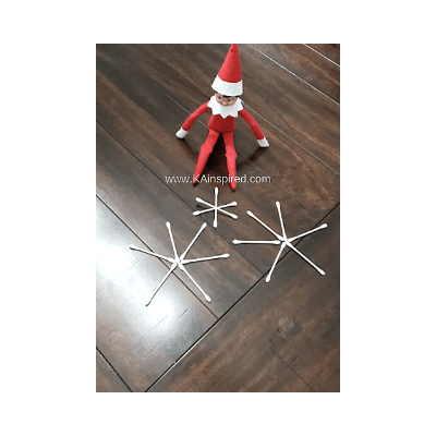 simple elf on the shelf idea