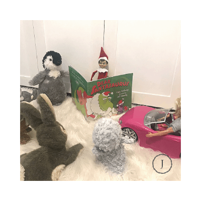 elf on the shelf storytime