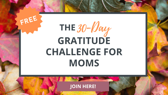 join us for the 2020 gratitude challenge for moms