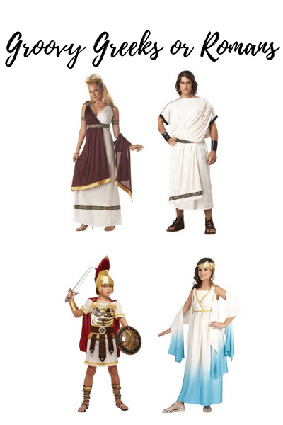 ancient greek family halloween costumes