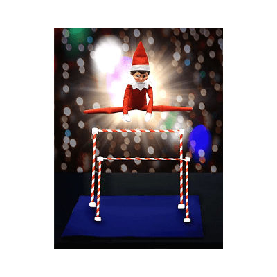 gymnast elf on the shelf