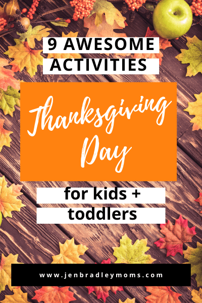 thanksgiving day ideas for kids and toddlers