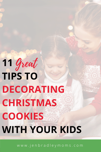 how to decorate christmas cookies with kids
