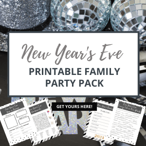New Year's Eve Family Party Printable Pack