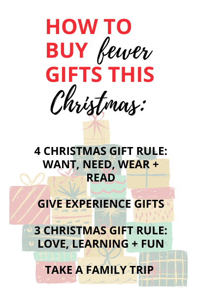 simple christmas gift giving ideas