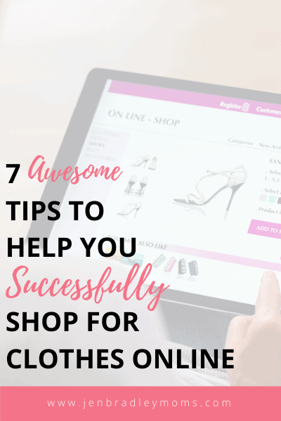 you can learn how to shop for clothes online