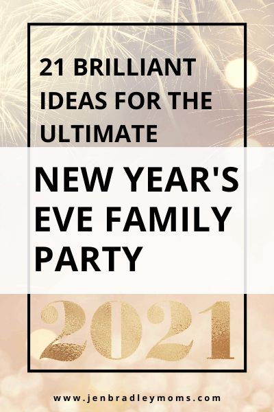 family new year's eve party for kids