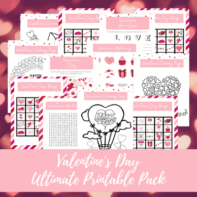 Valentine's Day Ultimate Printable pack