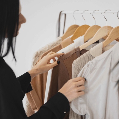 put your favorite items back into your closet