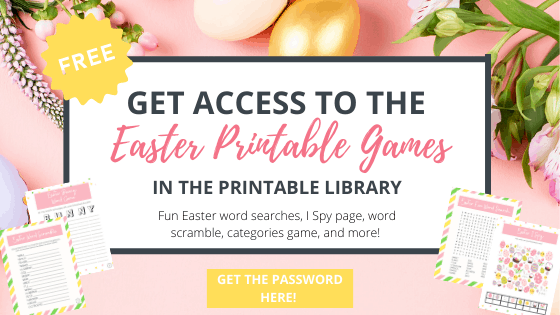 free Easter printable games