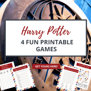 Harry Potter printable games