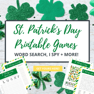 St. Patrick's Day printable games