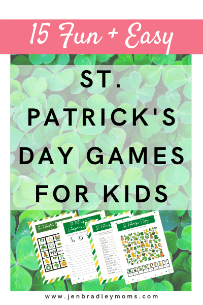 st. patrick's day games for the whole family