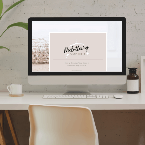 how to declutter online course