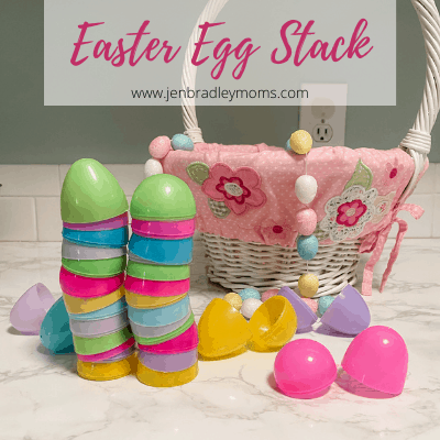 easter egg stack