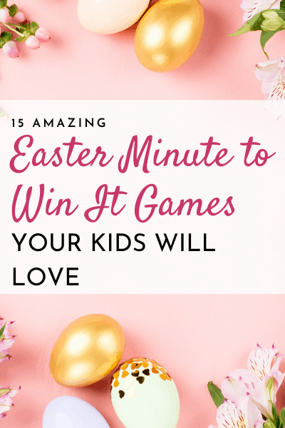 minute to win it easter games for families