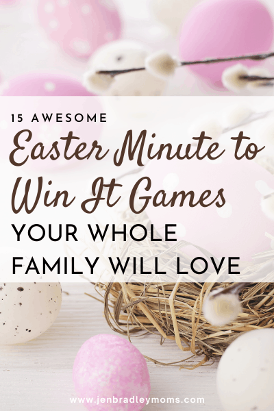 pin for easter games for families
