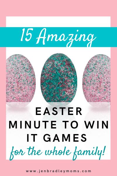 easter minute to win it games for kids