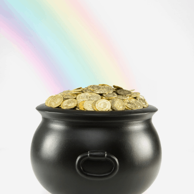 pot of gold St. Patrick's Day game