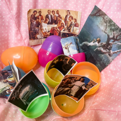 religious easter egg hunt ideas