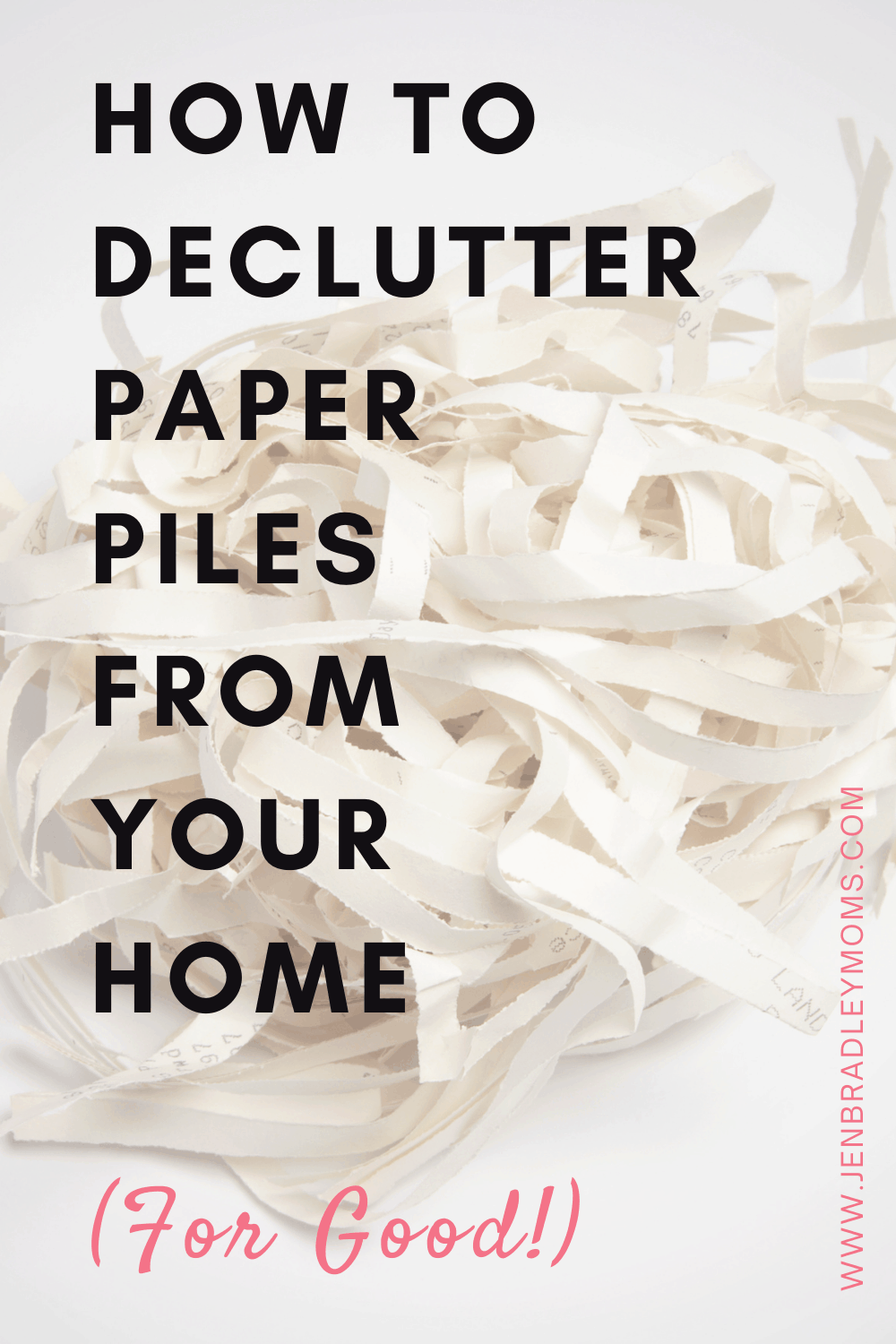 How to Declutter Paper - The Awesome Step-by-Step Guide