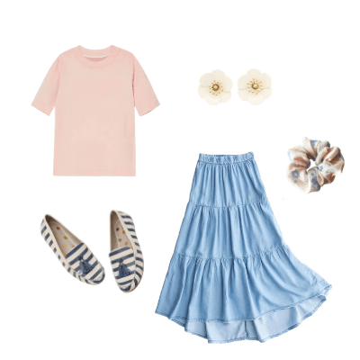 spring capsule outfit 2