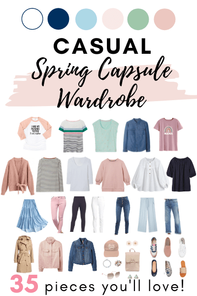 pin for casual spring wardrobe