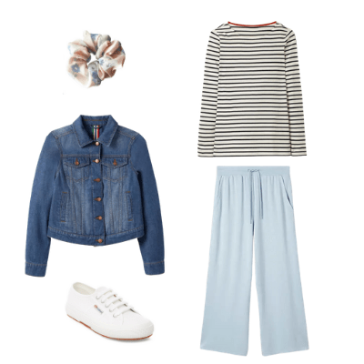spring capsule wardrobe outfit 12