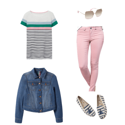 spring capsule wardrobe outfit 14