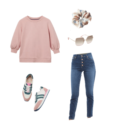 spring capsule wardrobe outfit 5