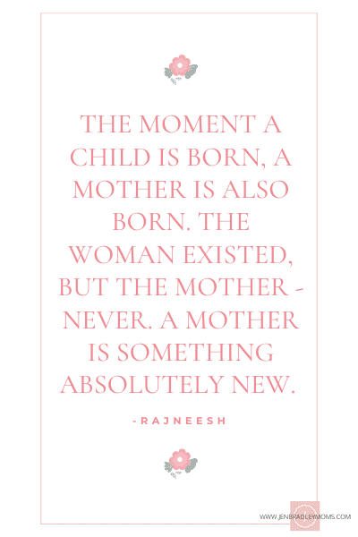 mother is born quote