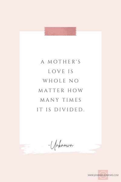 motherhood quote for moms of multiples
