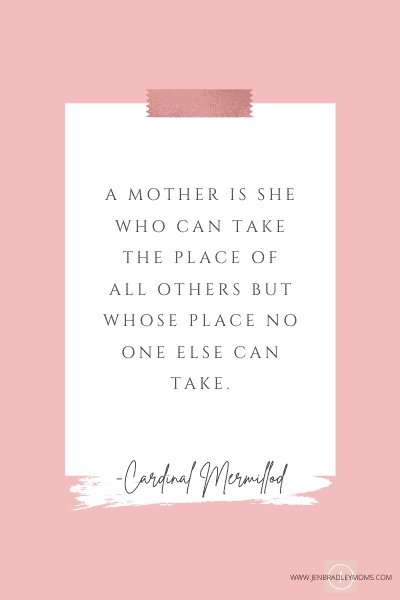 inspirational motherhood quote