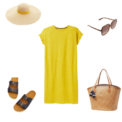 summer capsule wardrobe 2021 outfit 1