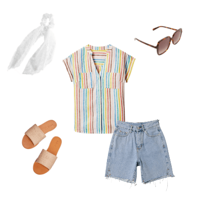 casual summer outfit 2