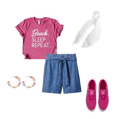 summer capsule wardrobe 2021 outfit 17