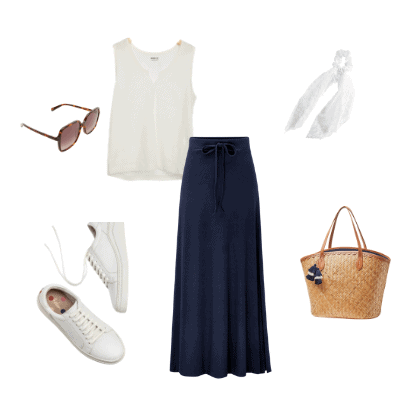 summer capsule wardrobe 2021 outfit 22