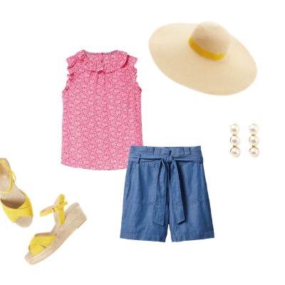 summer capsule wardrobe 2021 outfit 24