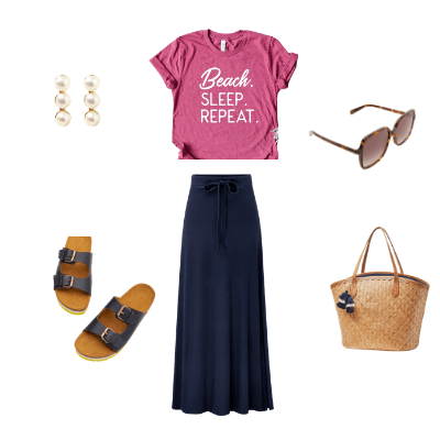 summer capsule wardrobe 2021 outfit 3