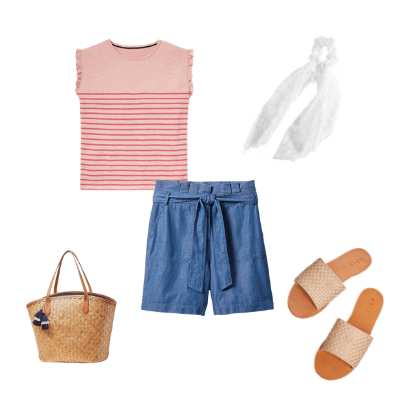 summer capsule wardrobe 2021 outfit 7