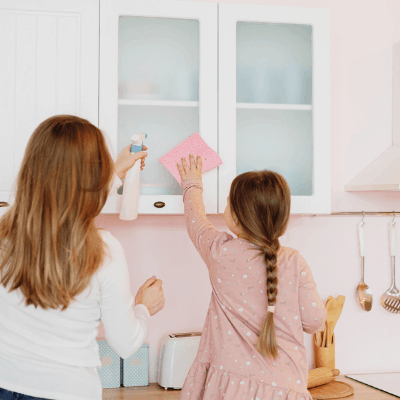 involve your kids in daily chores
