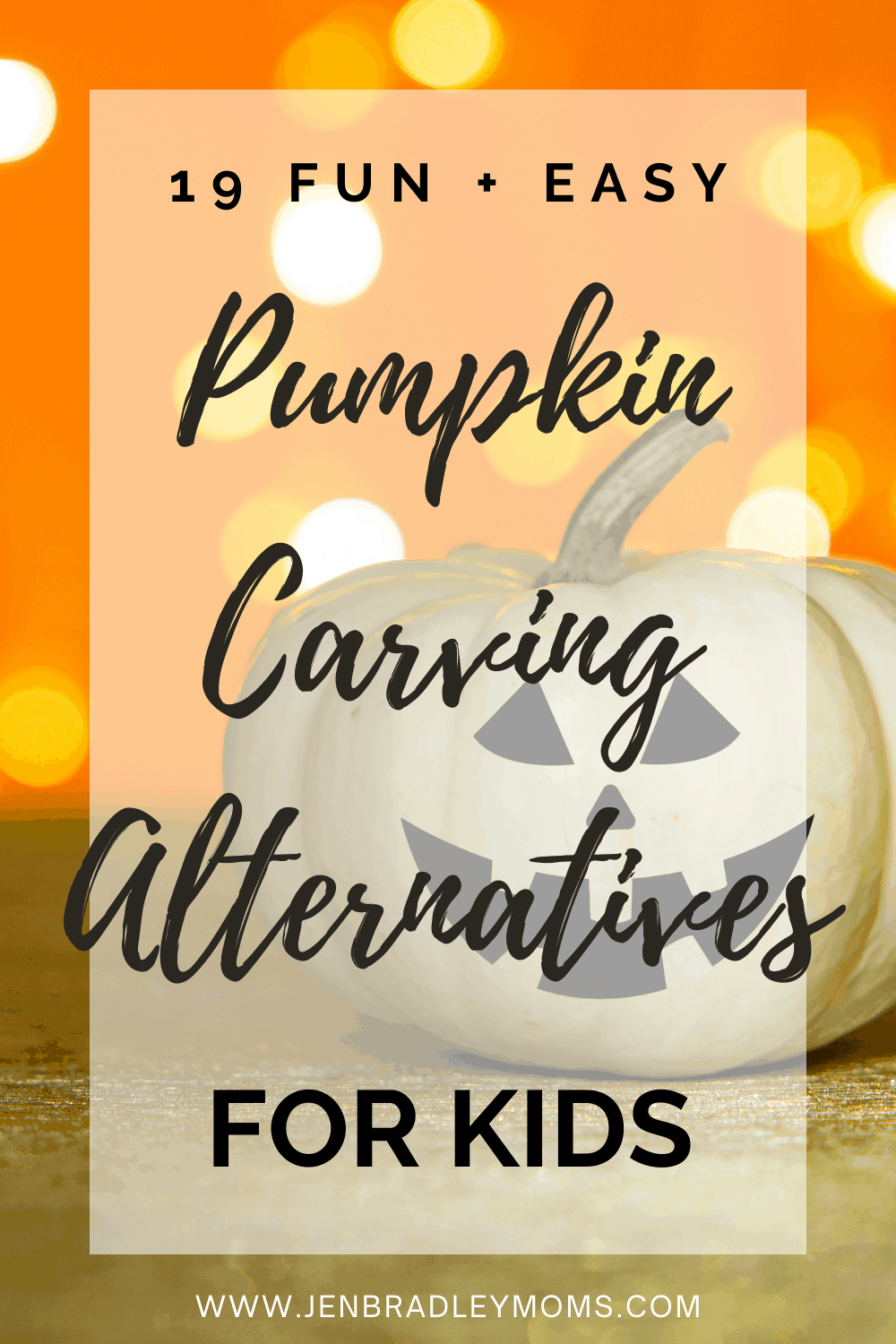 19 Easy Pumpkin Carving Alternatives You Need to Try with Your Kids