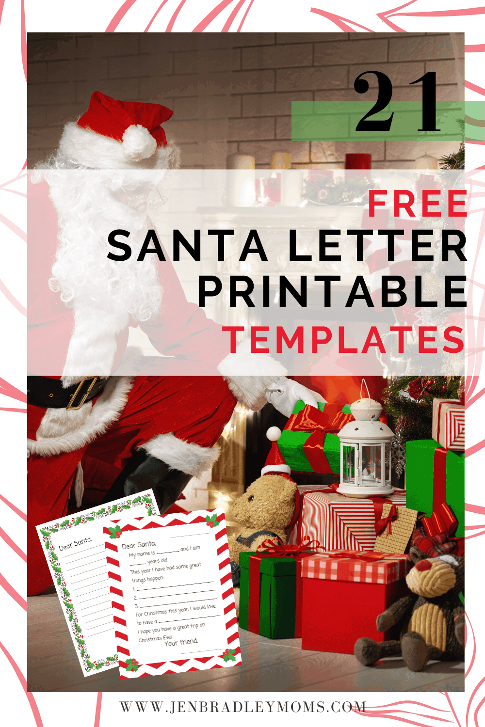 21 Adorable and Free Letter to Santa Printable Templates