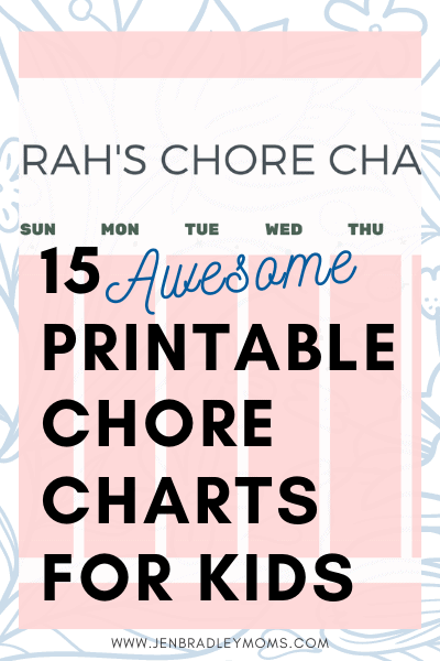 pin for chore chart article