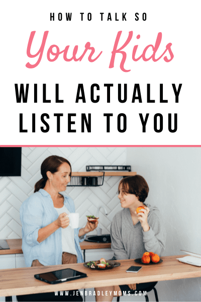 how to talk so your kids will listen pin